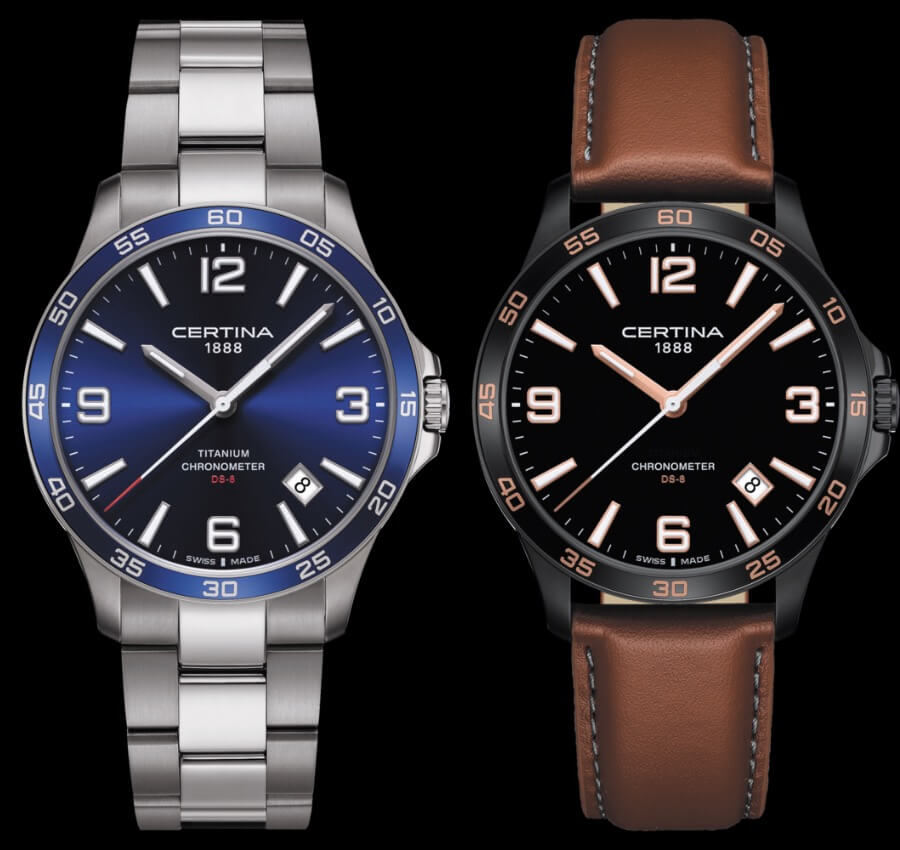 The New Certina DS-8