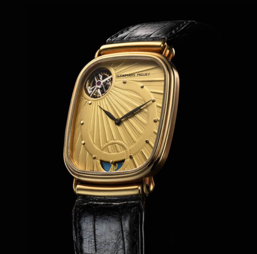 Audemars Piguet 1986 selfwinding tourbillon wristwatch
