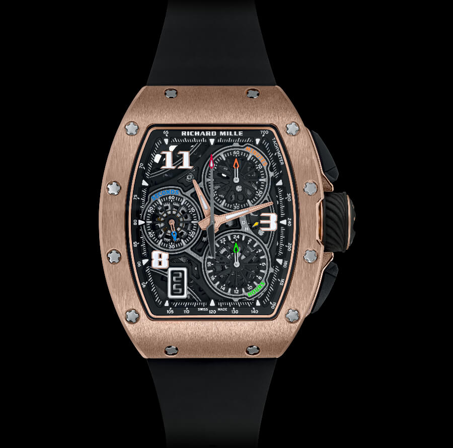 Richard Mille RM 72-01 Lifestyle In-House Chronograph Gold Watch