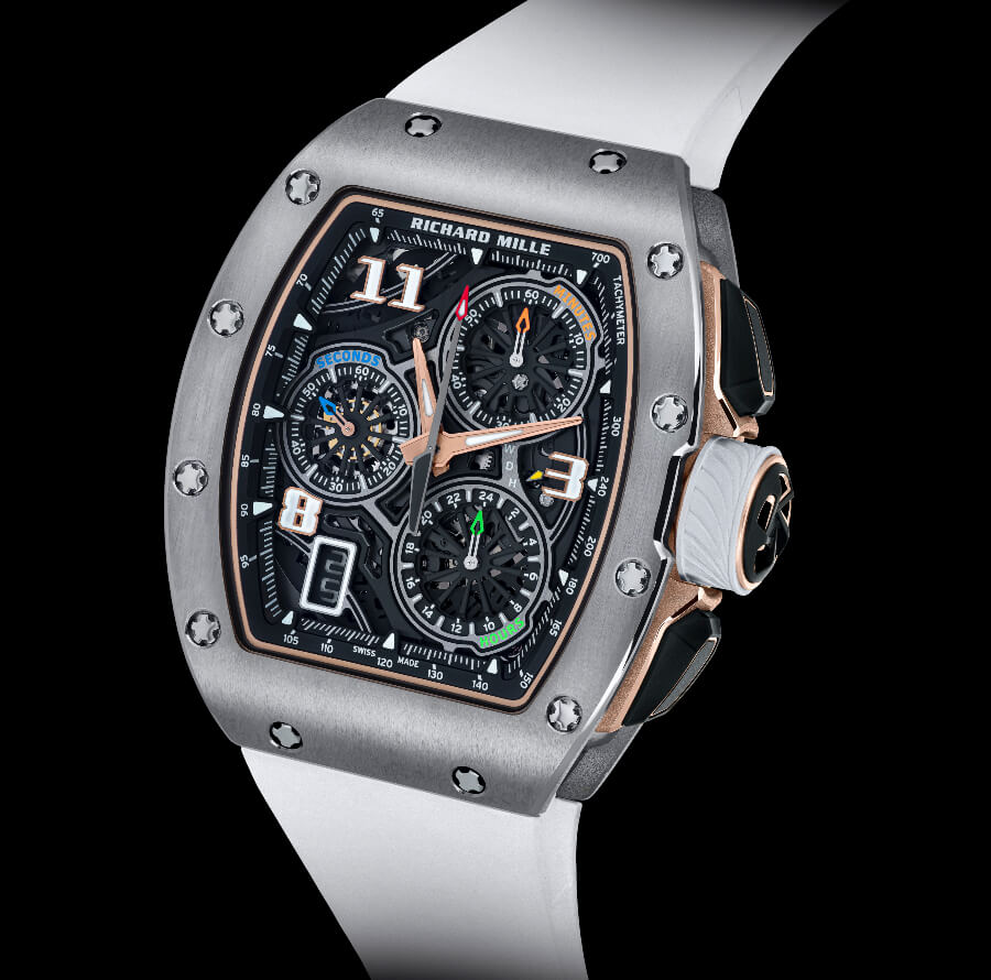 The New Richard Mille RM 72-01 Lifestyle In-House Chronograph