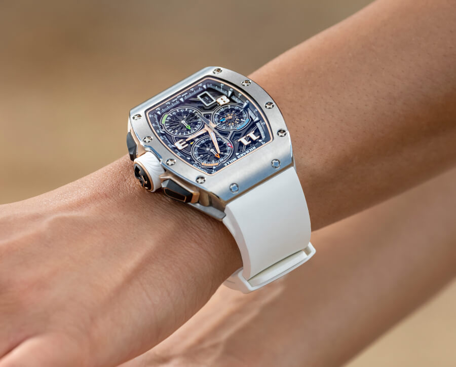 Richard Mille RM 72-01 Lifestyle In-House Chronograph Watch Review
