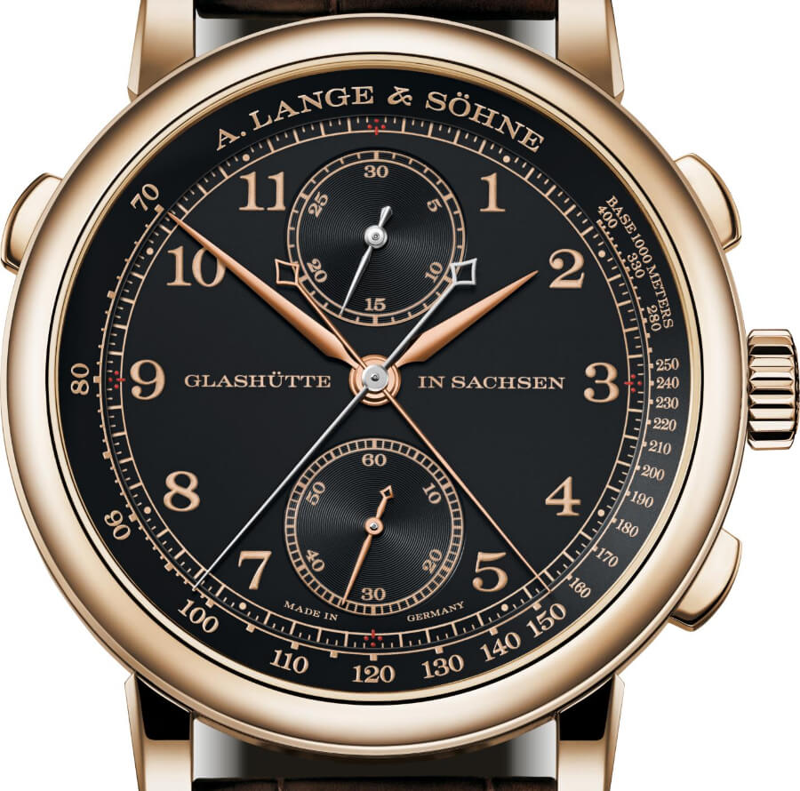 A. Lange & Söhne 1815 Rattrapante Honeygold Watch