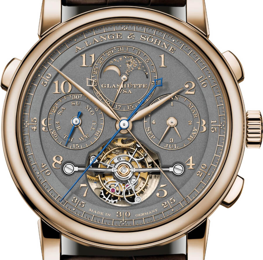 A. Lange & Söhne Tourbograph Perpetual Honeygold Watch