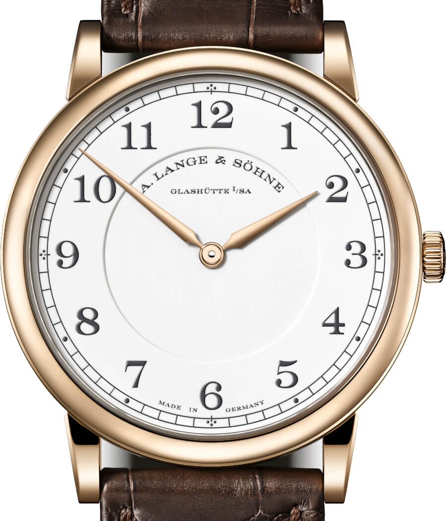 """The New A. Lange & Söhne 1815 Thin Honeygold """"Homage to F. A. Lange"""""""