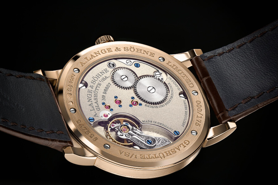 """A. Lange & Söhne 1815 Thin Honeygold """"Homage to F. A. Lange""""  In House Movement"""