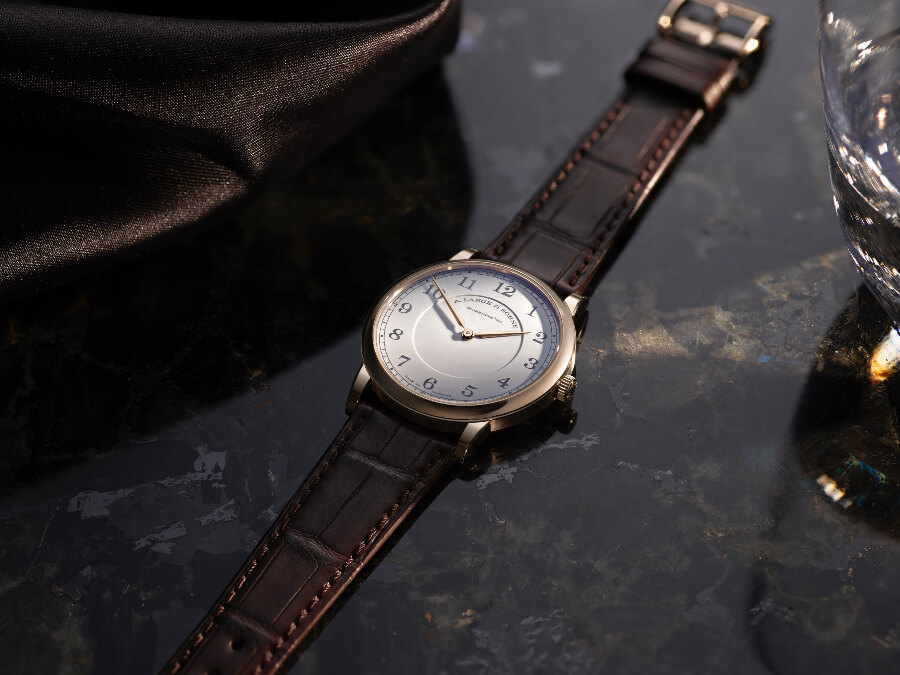 """A. Lange & Söhne 1815 Thin Honeygold """"Homage to F. A. Lange"""" Watch Review"""