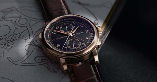"A. Lange & Söhne 1815 Rattrapante Honeygold ""Homage to F. A. Lange"" (Price, Pictures and Specifications)"