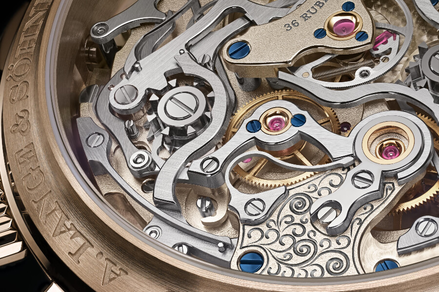 chronograph/rattrapante Watch Movement