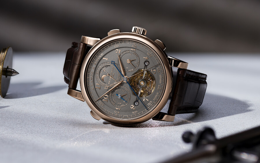 "A. Lange & Söhne Tourbograph Perpetual Honeygold ""Homage to F. A. Lange"" Watch Review"