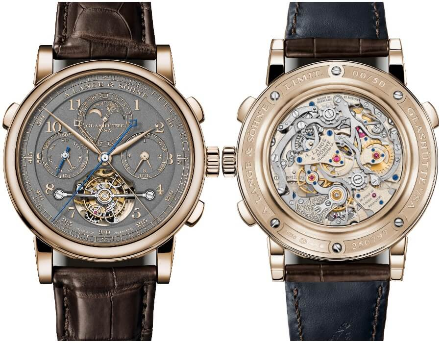 """TheNew A. Lange & Söhne Tourbograph Perpetual Honeygold """"Homage to F. A. Lange"""""""