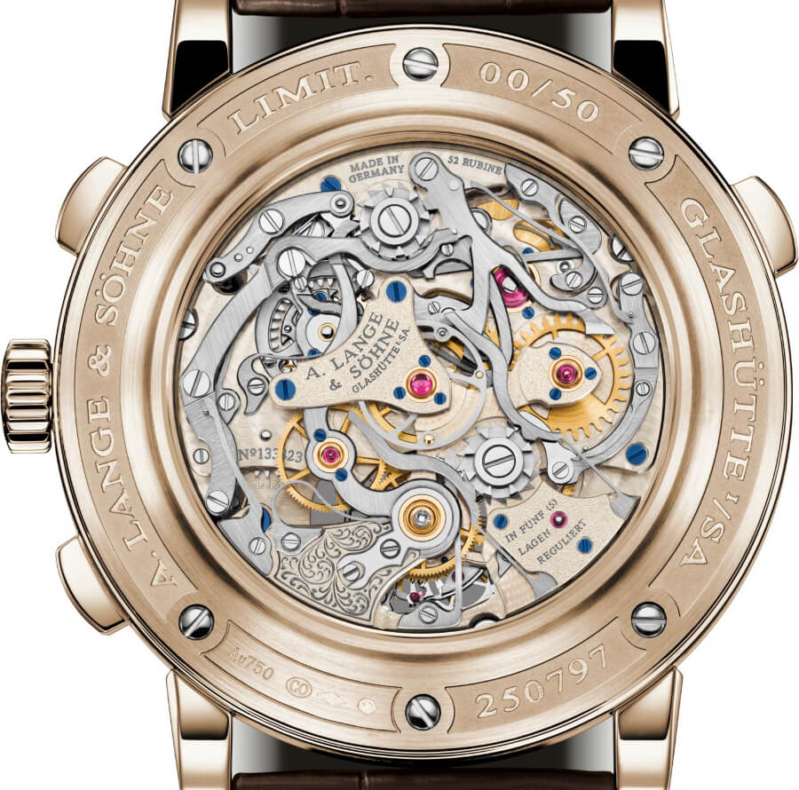 "A. Lange & Söhne Tourbograph Perpetual Honeygold ""Homage to F. A. Lange"" In House Movement"