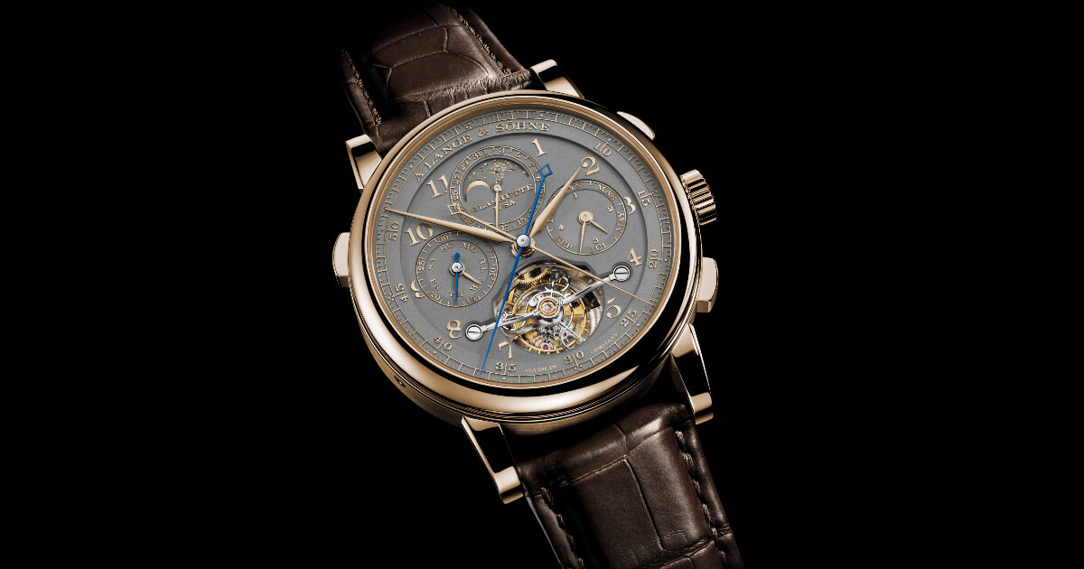 "A. Lange & Söhne Tourbograph Perpetual Honeygold ""Homage to F. A. Lange"" (Price, Pictures and Specifications)"