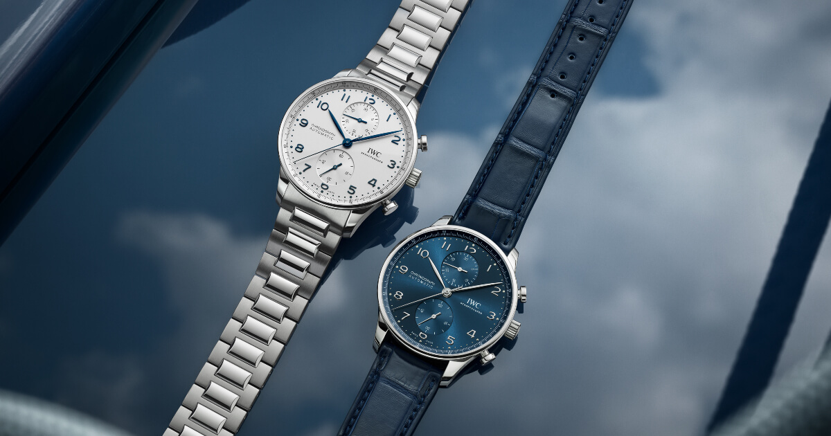 The New IWC Portugieser Chronograph Ref. IW371617 With Stainless Steel Bracelet (Price, Pictures and Specifications)