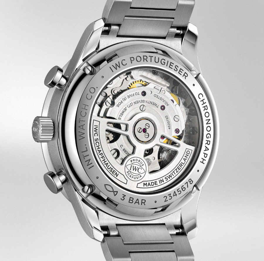 IWC Portugieser Chronograph Ref. IW371617 With Stainless Steel Bracelet In House Movement