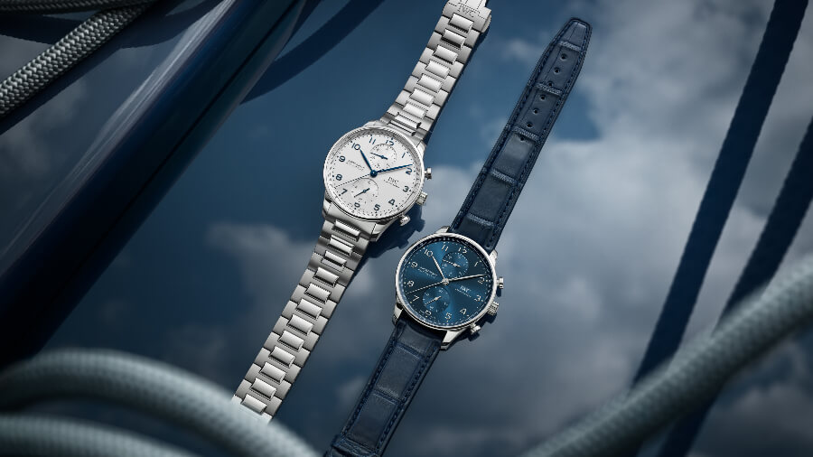 IWC Portugieser Chronograph Ref. IW371617 With Stainless Steel Bracelet Watch Review