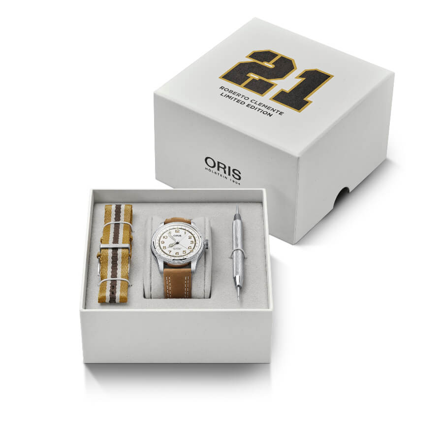 Oris Roberto Clemente Limited Edition Full Box for sale