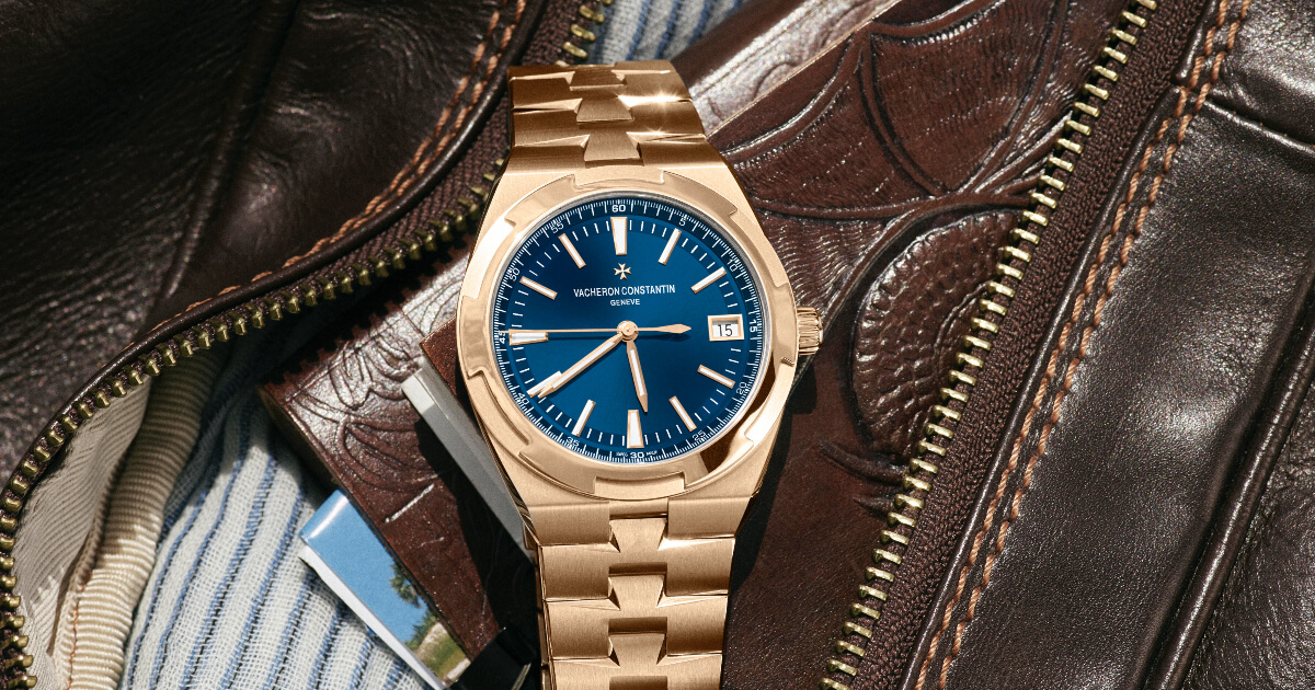 Vacheron Constantin Overseas Self-Winding In Full Pink Gold (Price, Pictures and Specifications)