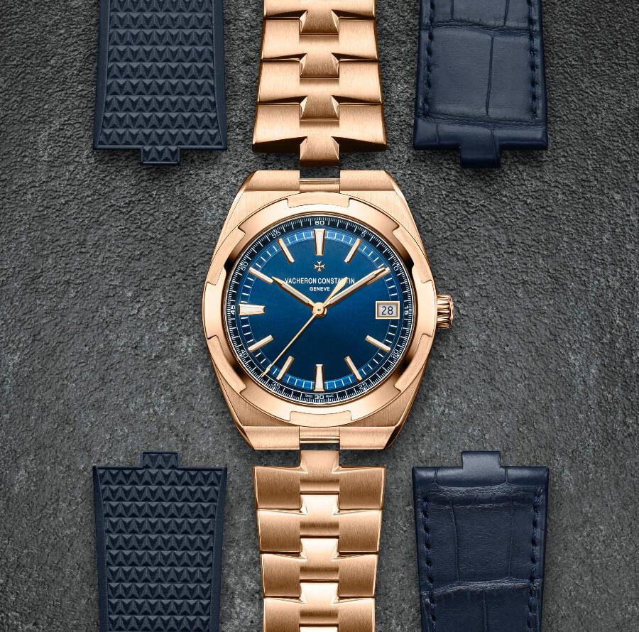 Vacheron Constantin Overseas Self-Winding In Full Pink Gold ref. 4500V/110R-B705