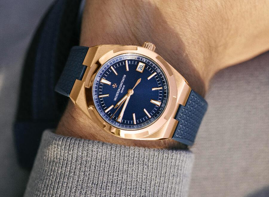 Vacheron Constantin Overseas Self-Winding In Full Pink Gold ref. 4500V/110R-B705 Watch Review