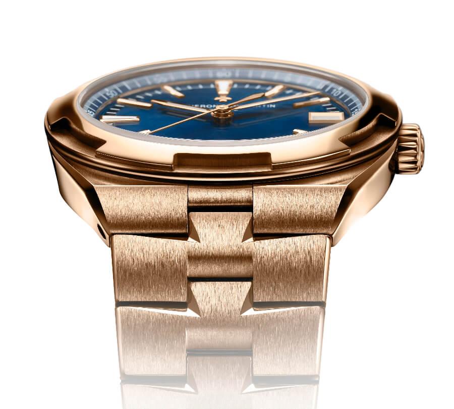 Vacheron Constantin Overseas Self-Winding In Full Pink Gold ref. 4500V/110R-B705 Gold Bracelet