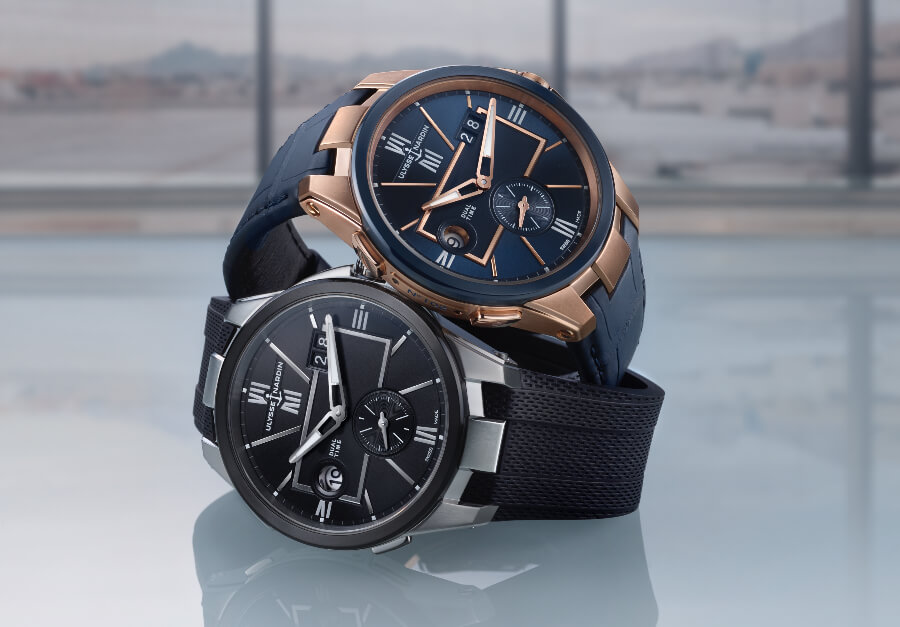 Ulysse Nardin 42 MM Dual Time Watch Review