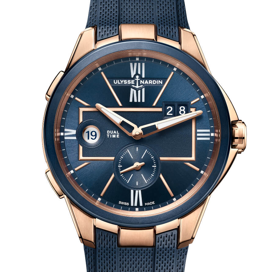 Ulysse Nardin 42 MM Dual Time Ref. 242-20/43