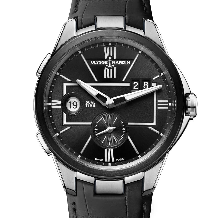 Ulysse Nardin 42 MM Dual Time Ref. 243-20-3/42