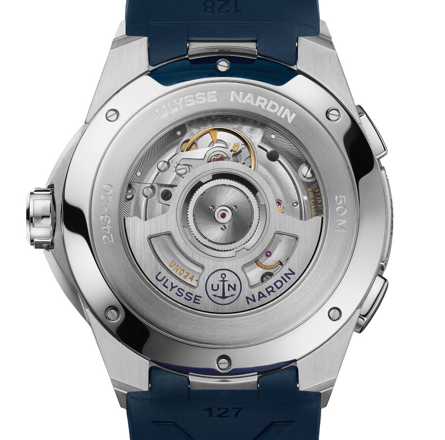Ulysse Nardin 42 MM Dual Time In House Movement