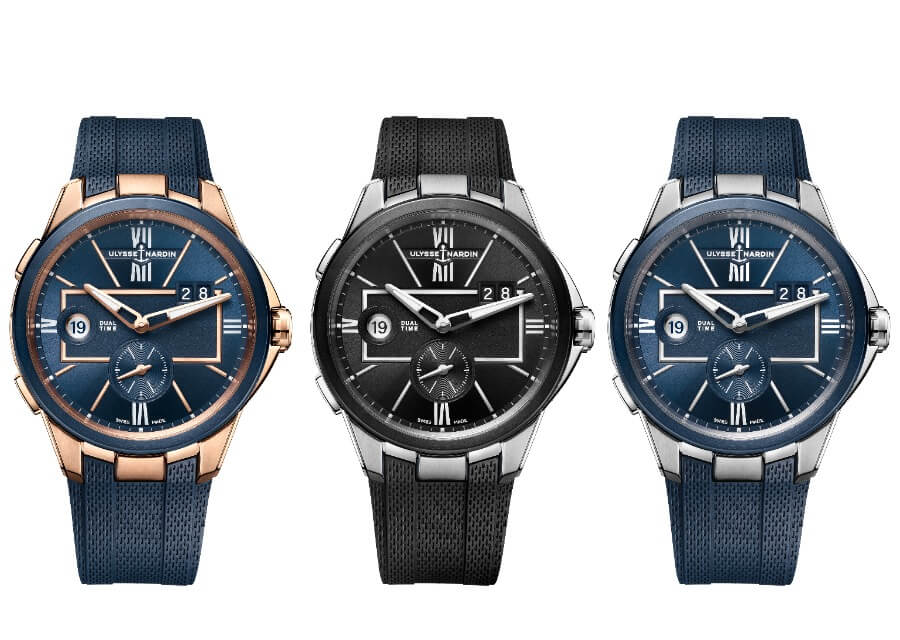 The New Ulysse Nardin 42 MM Dual Time