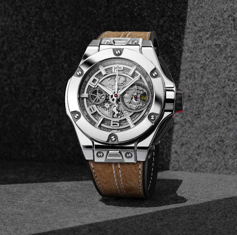 Hublot Big Bang Ferrari 1000 GP In White Gold