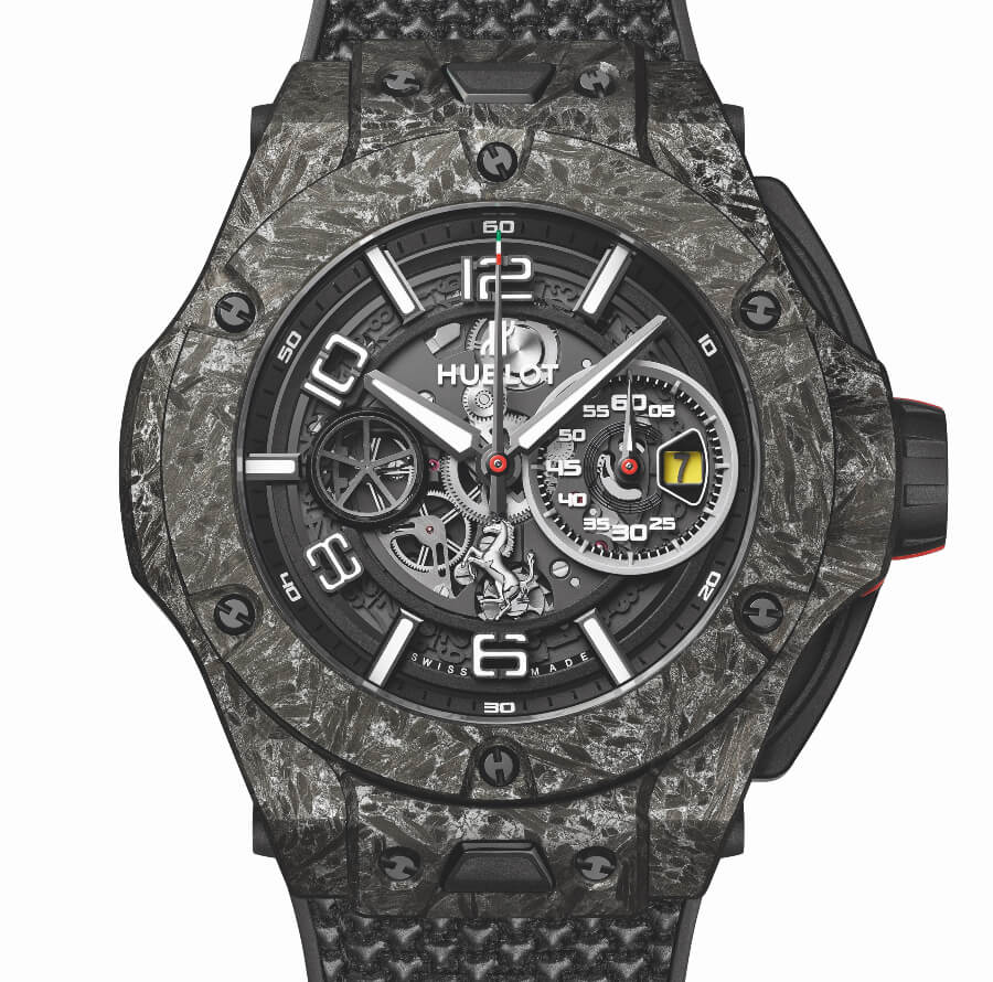Hublot Big Bang Ferrari 1000 GP In Carbon Cermic
