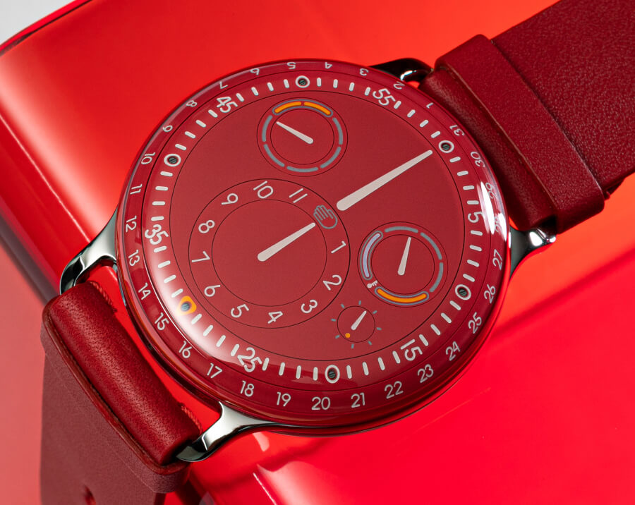 Ressence Type 3MC Unique Piece Burgundy Dial Watch
