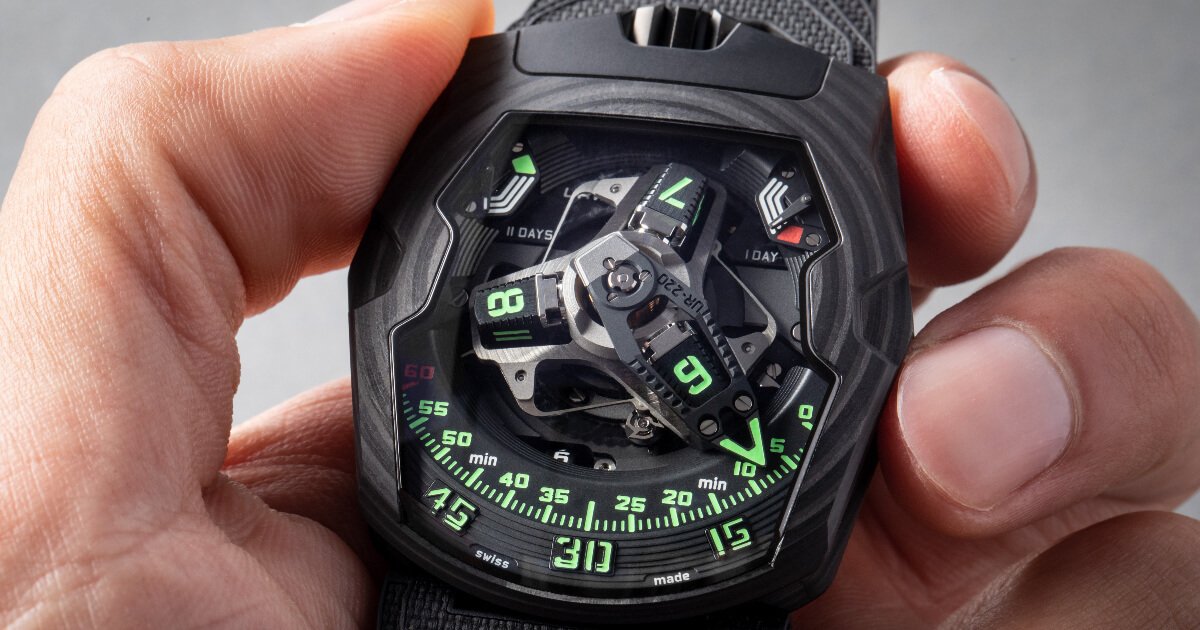 "Urwerk UR-220 ""Falcon Project"" (Price, Pictures and Specifications)"