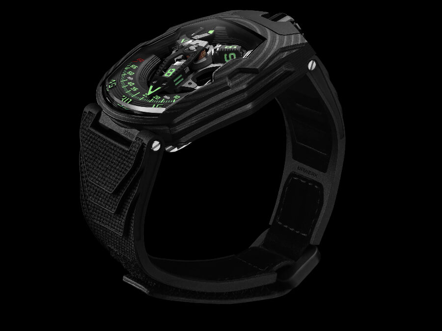 "The New Urwerk UR-220 ""Falcon Project"" Carbon Edition"