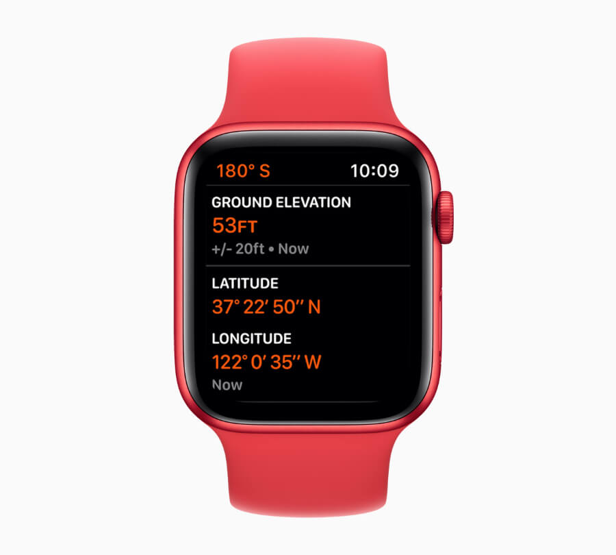 Apple Watch6 Altimeter