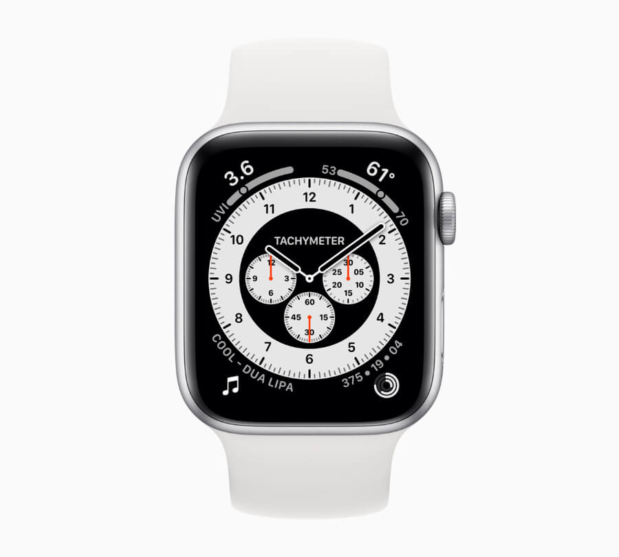 Apple Watch 6 Chronograph