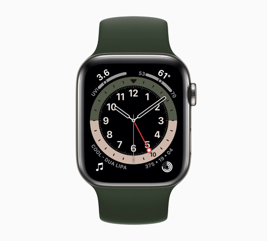 Apple Watch 6 GMT function