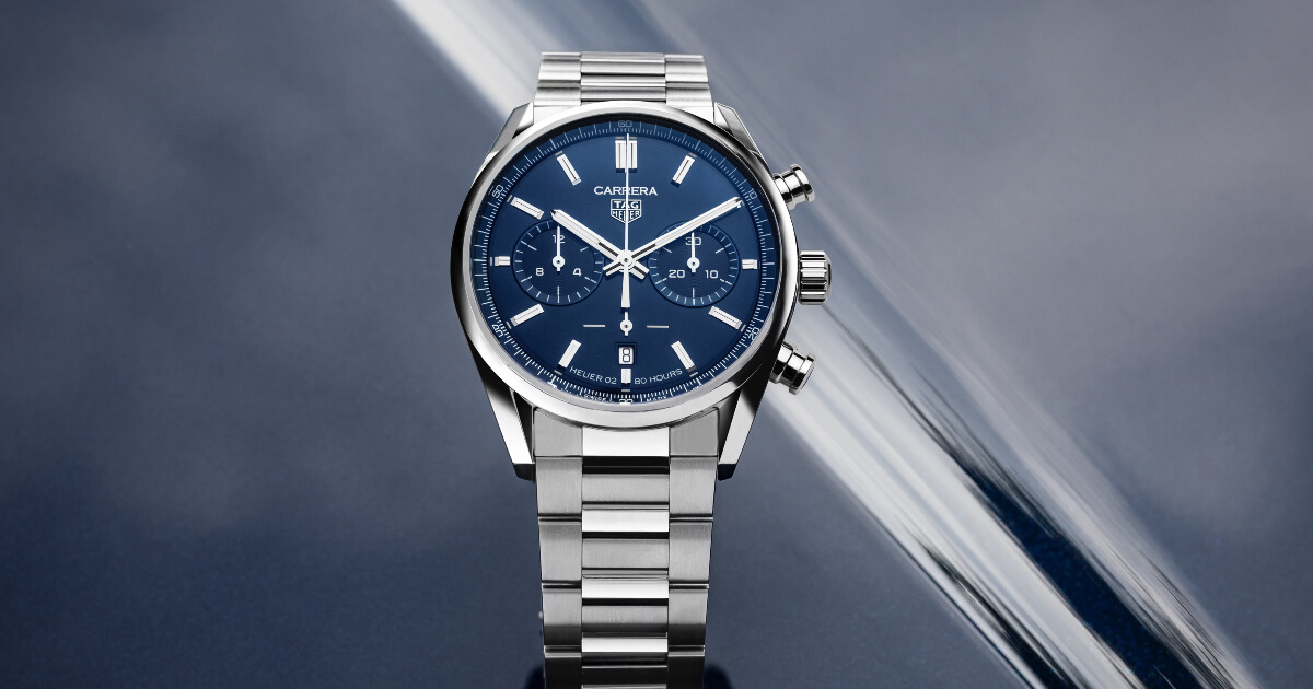 The New TAG Heuer Carrera Chronograph 42 mm Calibre Heuer 02 Automatic (Price, Pictures and Specifications)