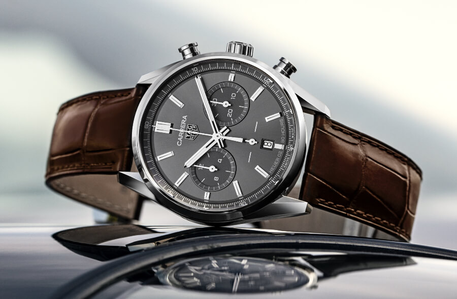 Hands On The New TAG Heuer Carrera Chronograph 42 mm Calibre Heuer 02 Automatic