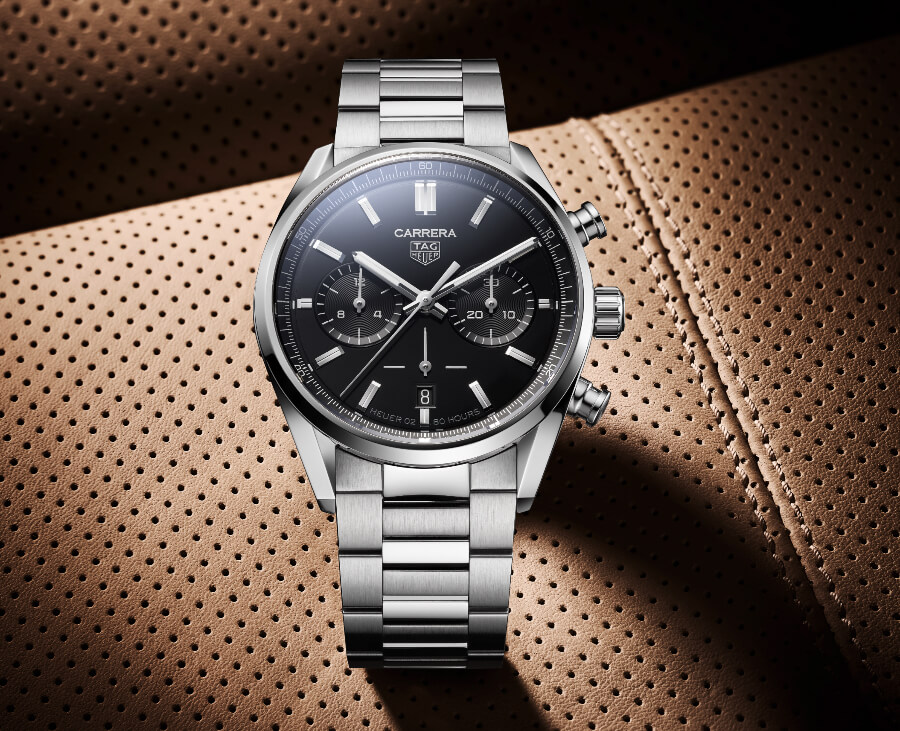 TAG Heuer Carrera Chronograph 42 mm Calibre Heuer 02 Automatic Watch Review