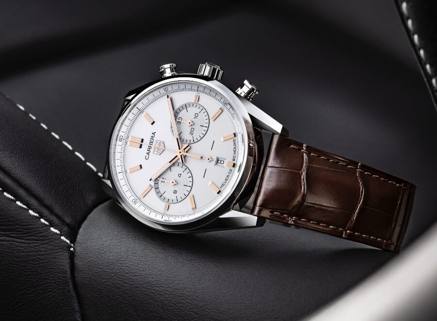 Review the TAG Heuer Carrera Chronograph 42 mm Calibre Heuer 02 Automatic