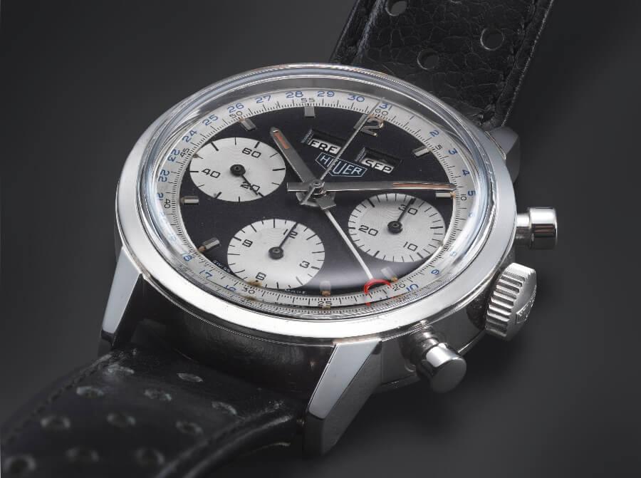 Heuer Chronograph panda dial 1968