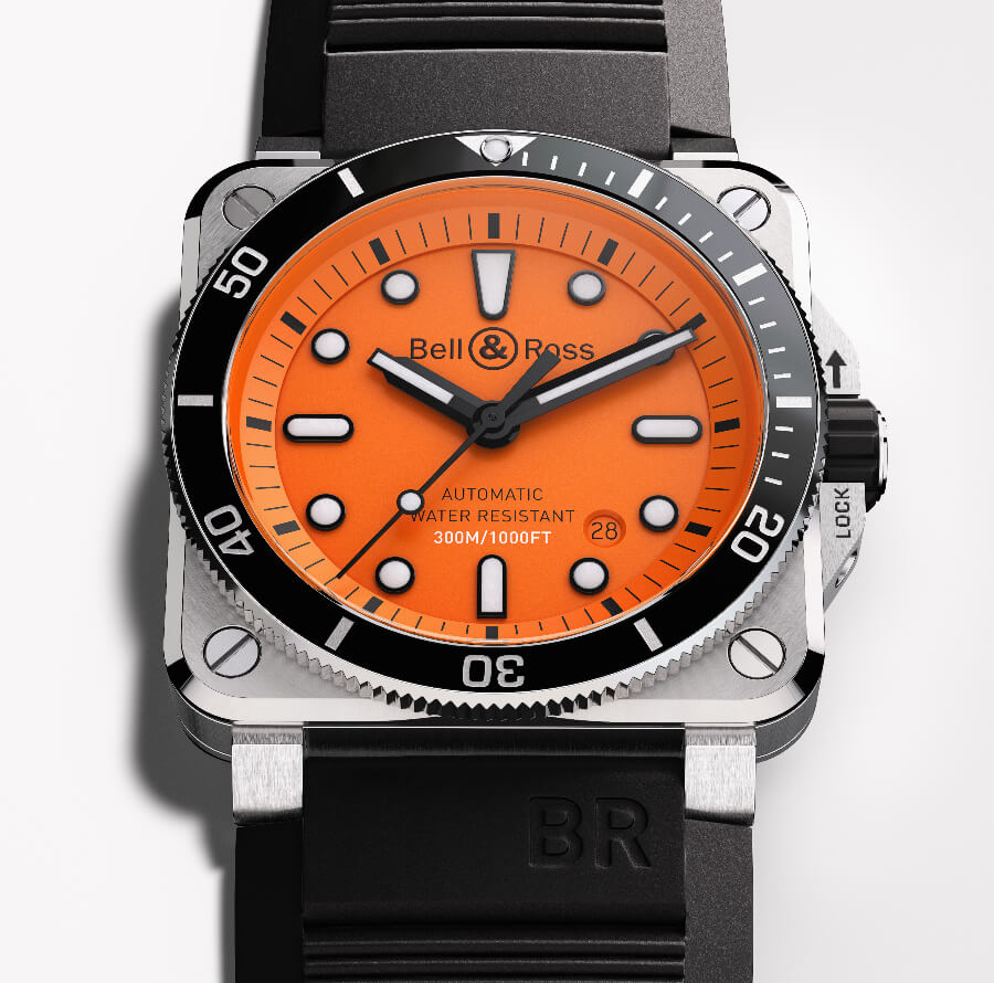 The New Bell & Ross BR 03-92 Diver Orange