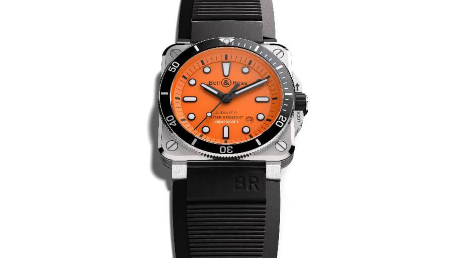 Best diver Watch Orange Dial