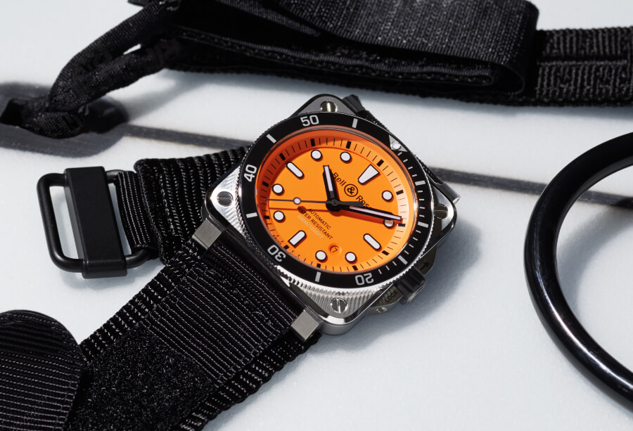 Bell & Ross BR 03-92 Diver Orange Watch Review