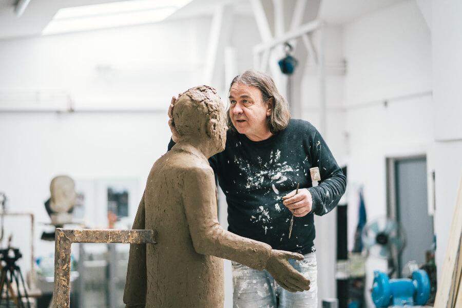 Hamburg sculptor Thomas Jastram