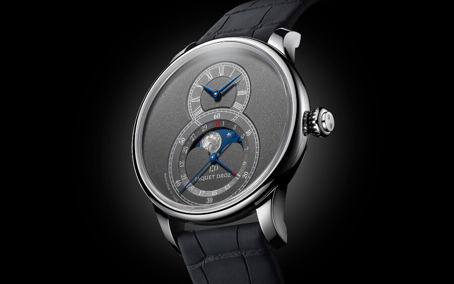 Jaquet Droz Grande Seconde Moon Anthracite Watch Review