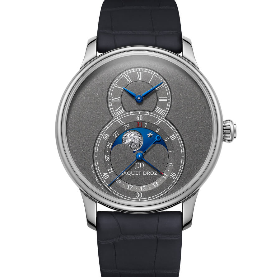 The New Jaquet Droz Grande Seconde Moon Anthracite