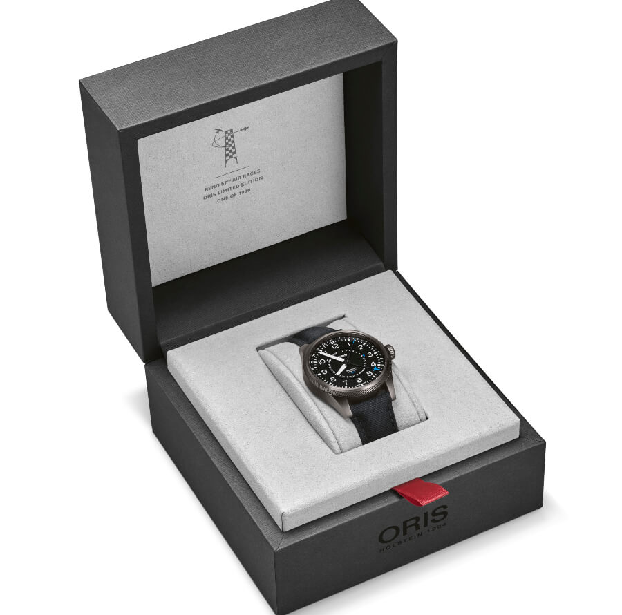 Oris 57th Reno Air Races Limited Edition Full Box for sale