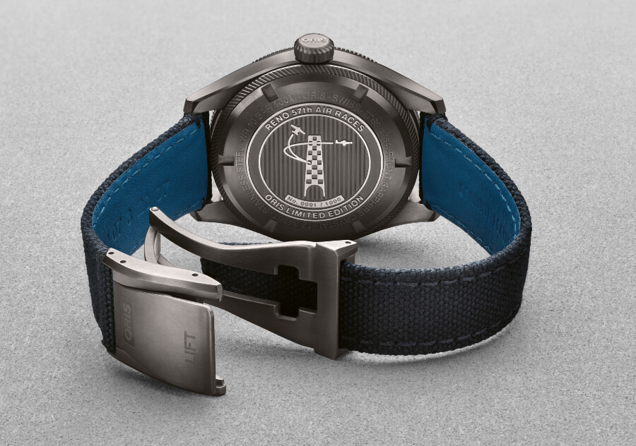 Oris 57th Reno Air Races Limited Edition Case Back